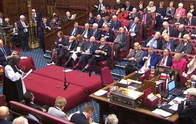 Палата лордів внесла нову поправку в законопроект про Brexit