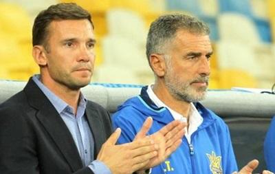 Перед тренерським штабом збірної України немає боргів