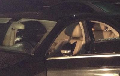 З явилося відео з місця розстрілу авто у Києві