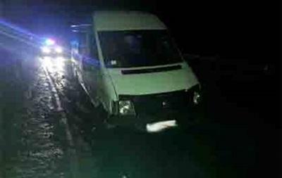 На Львівщині перекинувся мікроавтобус, п ятеро постраждалих