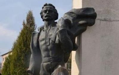 На Львівщині вандали пошкодили пам ятник Франку