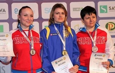 Українка Авраменко завоювала золото ЧЄ в стрільбі з гвинтівки
