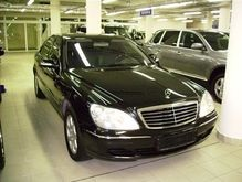 Винский отказался от пользования Mercedes S500L 4 Matic