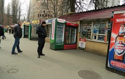 Біля Солом янського ринку Києва сталася стрілянина
