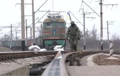 Блокувальники розграбували поїзд - Аброськін