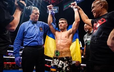 Украинец Деревянченко победил ямайского боксера