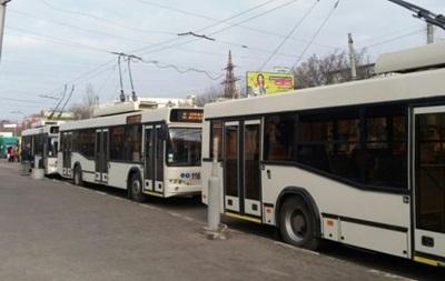 В Кропивницком из-за обрыва ЛЭП остановились все троллейбусы