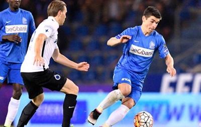 Малиновский попал в основной состав матча Лиги Европы против Гента