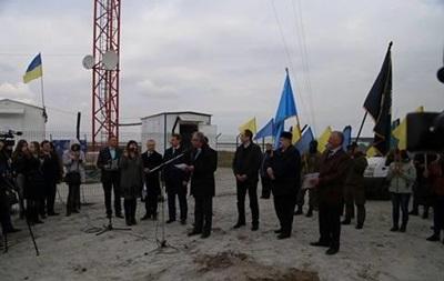 На Чонгарі відкрили вишку для мовлення на Крим