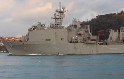 Американський десантний корабель зайшов у Чорне море