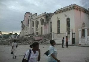 Землетрясение на Гаити: под обломками разрушенного отеля остаются сотни туристов