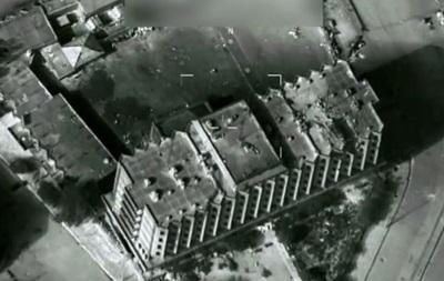 Ліквідацію ватажків ІД з повітря показали на відео