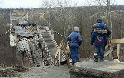 ОБСЄ: У Золотому намагалися підірвати міст