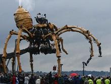 По Ливерпулю бродил гигантский паук