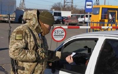 В пунктах пропуска на Донбассе растут очереди