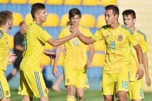Юнацька збірна України з футболу стартувала з перемоги в еліт-раунді Євро-2017