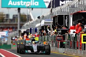 Гран-прі Австралії: Хемілтон виграв першу практику
