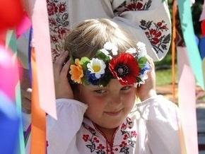 В Тернополе проходит всеукраинский фестиваль Цвет вышиванки