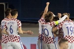 Україна програла Хорватії у відборі на ЧС-2018