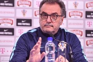 Тренер збірної Хорватії: Збірна України показала відмінну гру
