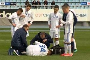 Хачеріді травмувався в першому матчі за Динамо у 2017 році