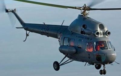 Под Краматорском разбился вертолет, есть жертвы