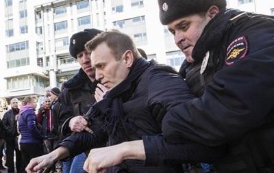 У Росії заарештували Навального