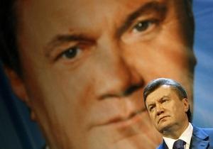 Янукович пообещал позаботиться о космонавтах