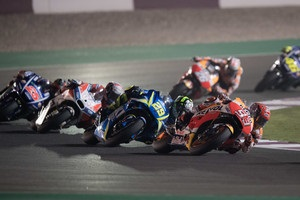 MotoGP: Віньялес виграв Гран-прі Катару, Довіціозо - другий, Россі - третій