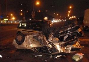СМИ: Чиновник, спровоцировавший ДТП в Конча-Заспе, двигался со скоростью 230 км/час