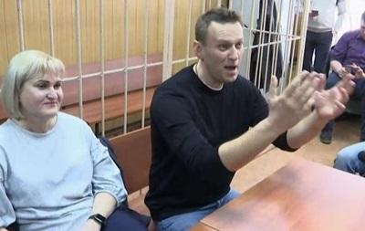 Навального оштрафували за організацію мітингу в Москві