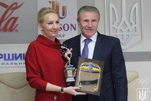 Підгрушна отримала нагороду кращої спортсменки місяця