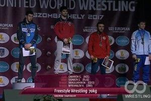 Український борець здобув бронзову медаль чемпіонату Європи