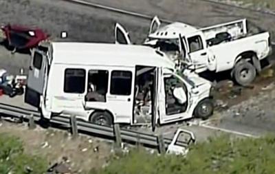 Аварія з автобусом у Техасі: 13 загиблих
