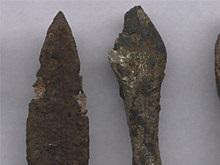 Российские археологи подняли со дна реки древние стрелы