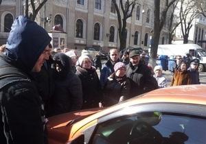 Новости Одессы - митинг - В центре Одессы недовольные инвесторы перекрыли улицу