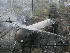 В Грузии подорван железнодорожный состав с нефтью