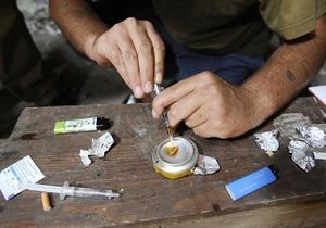 В России ежегодно от употребления наркотиков гибнут 40 тысяч человек