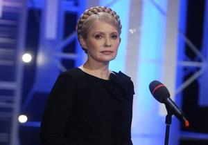 Сегодня Тимошенко примет участие в Шустер Live