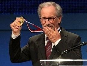 Cтивен Спилберг награжден медалью Свободы