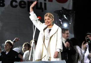 Тимошенко: Молодые политики не могут приходить на высшую руководящую должность