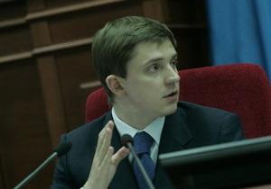 Довгий перенес заседание Киевсовета в связи с посланием Януковича