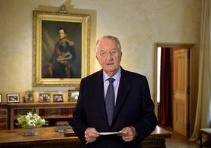 Новости Бельгии - король Альберт - Король Бельгии выступил с прощальным обращением к нации - принц Филипп