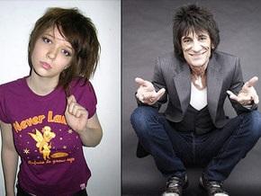 Гитарист The Rolling Stones помирился со своей русской подругой