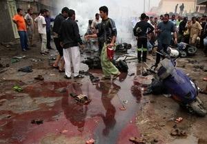 Смертник взорвал себя в Багдаде: более 40 человек погибли