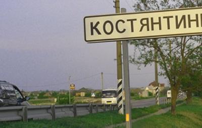 В Константиновке произошло ДТП с участием военного