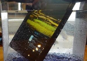 Xperia Tablet Z - Sony анонсировала  самый тонкий в мире  планшет