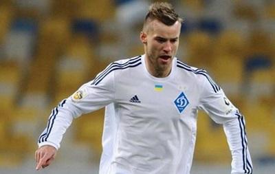 Ярмоленко визнаний найкращим гравцем 23-го туру чемпіонату України