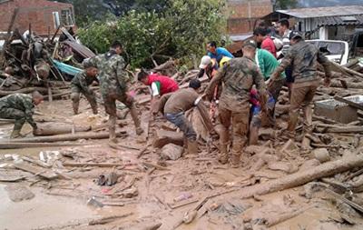 Жертвами зсуву в Колумбії стали майже 300 осіб