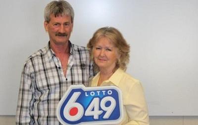 Подружжя у Канаді втретє виграло в лотерею